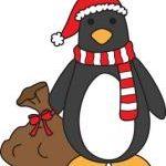 Evil Santa Penguin
