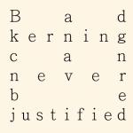 Bad Kerning