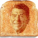 Miracle Reagan Toast Discovered