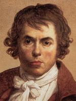 Jacques-Louis David - Self Portrait - Detail