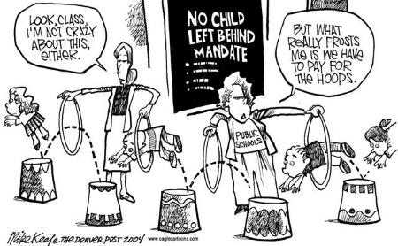 No Child Left Behind - Mike Keefe