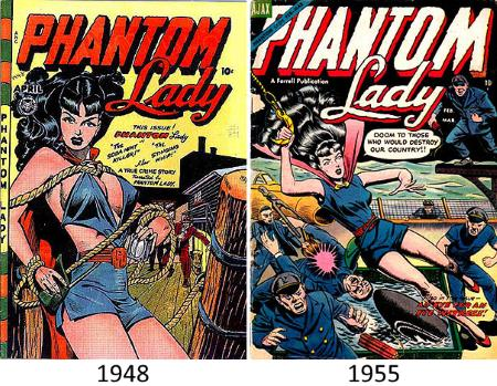 Phantom Lady - Comparison