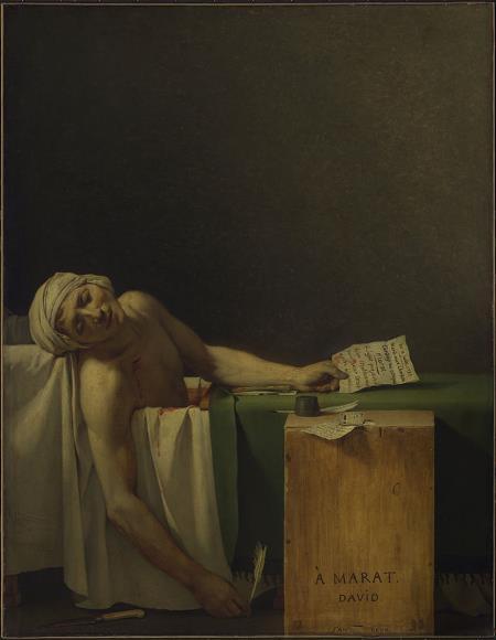 The Death of Marat - Jacques-Louis David