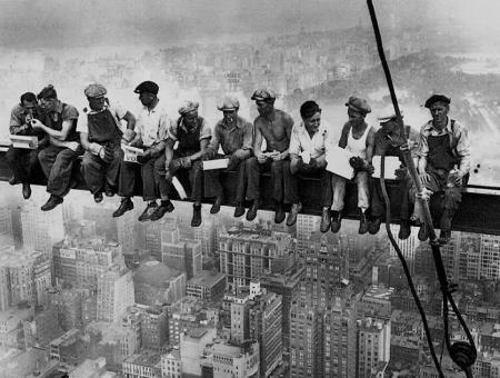 Empire State Building - Lewis Hine
