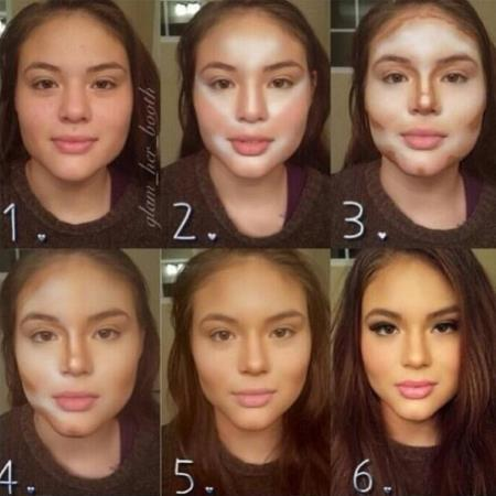 Using Makeup to Go From Beautiful Inhuman