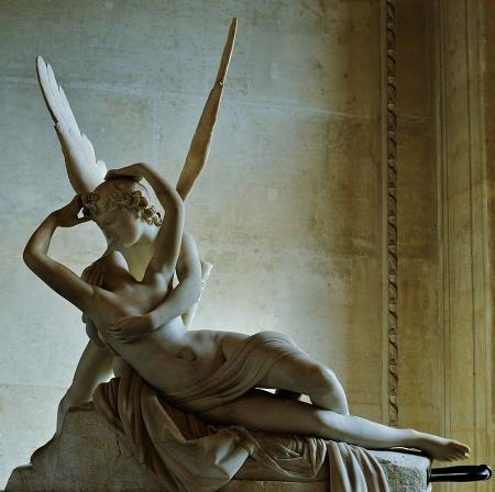 Psyche Revived by Cupid's Kiss - Antonio Canova