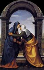 Visitation - Mariotto Albertinelli