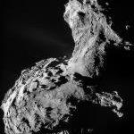 Organic Macromolecules on Comet P67