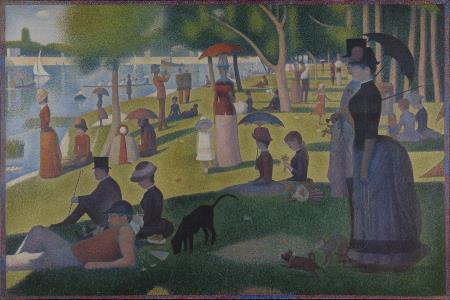 A Sunday Afternoon on the Island of La Grande Jatte - Georges Seurat