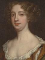 Detail of Aphra Behn by Peter Lely