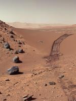 Curiosity Rover Image of Martian Landscape