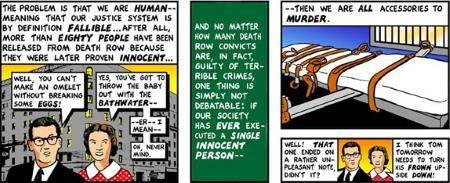 Death Penalty - Tom Tomorrow