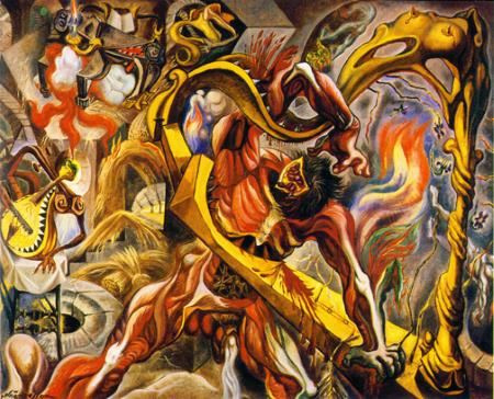 In the Tower of Sleep - Andre Masson