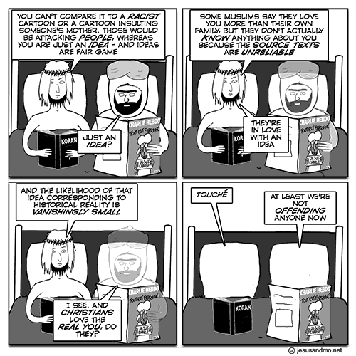 Jesus and Mo - Charlie Hebdo