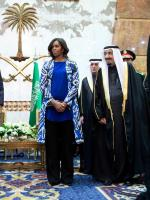 Michelle Obama at King Abdullah's Funeral