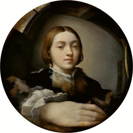 Convex Self-Portrait - Parmigianino