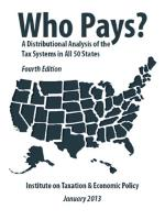 Who Pays? - Institute on Taxation and Economic Policy