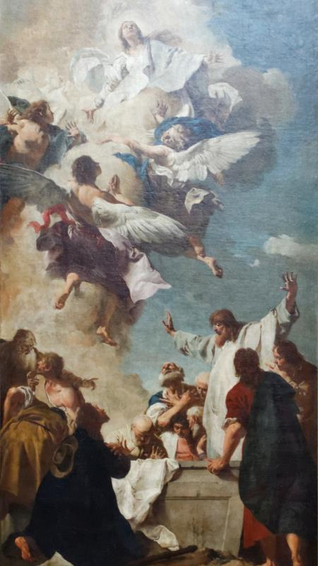 The Assumption of Mary - Giovanni Battista Piazzetta