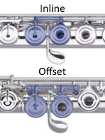 Flute: Inline and Offset G Keys