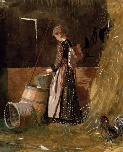 Fresh Eggs - Winslow Homer