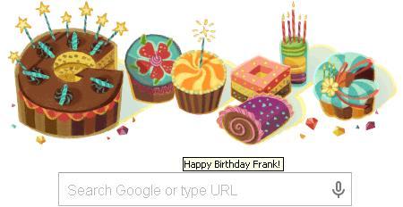 Google's Birthday Gift for Me