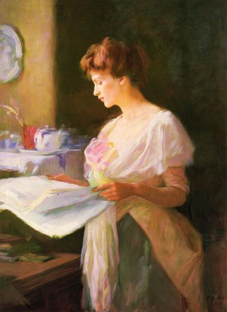 Morning News - Ellen Day Hale