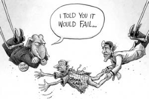 Obamacare - GOP: I told you it would fail...