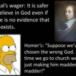 Pascal's Wager in Modern America