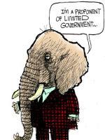 Republican Small Government Lie