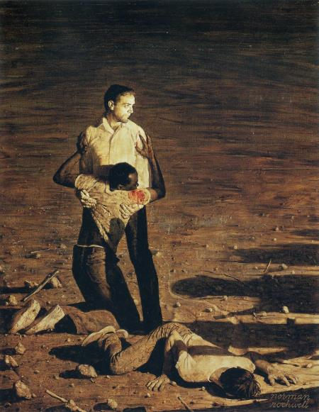 Murder in Mississippi - Norman Rockwell