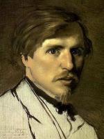 Illarion Pryanishnikov - Vasily Perov (detail)