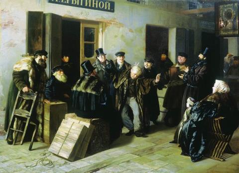 Jokers. Gostiny Dvor in Moscow - Illarion Pryanishnikov