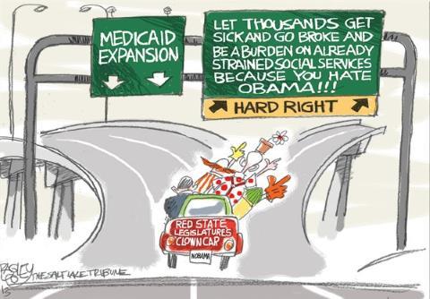 Medicaid Expansion Cartoon