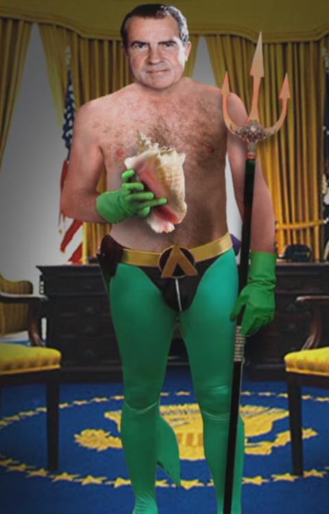 Nixon as Neptune