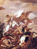 Battle of Clavijo - Corrado Giaquinto (Detail)