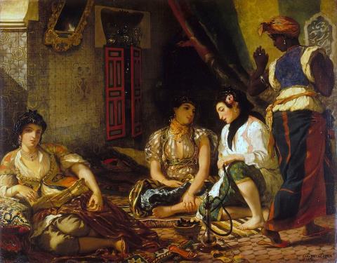 Femmes d'Alger Dans Leur Appartement - Eugène Delacroix