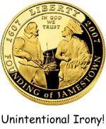 Jamestown Irony!