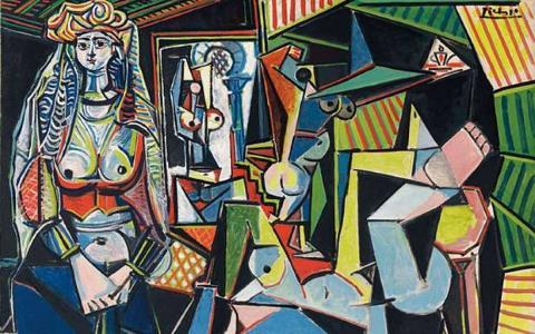 Les Femmes d'Alger (Version 'O') - Pablo Picasso