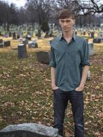 Weirdo at Cemetery