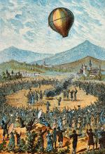 First Public Hot Air Balloon Flight