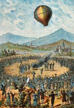 First Public Hot Air Balloon Flight