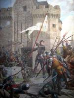 Joan of Arc at Siege of Orléans