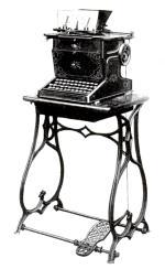 Sholes and Glidden typewriter