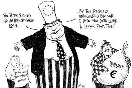 Greek Borrowers and German Bankers