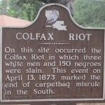 Anniversary Post: Colfax Massacre