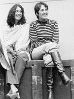 Mimi Fariña and Joan Baez