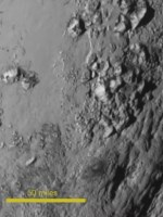 Pluto Close-Up - 14 July 2015