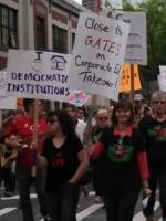 Gates Protest