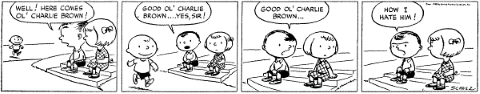 Peanuts First Strip