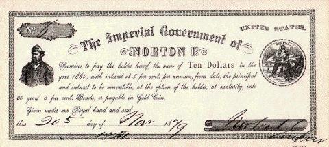 Norton $10 Note
